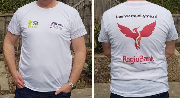 Shirt voor en achter
