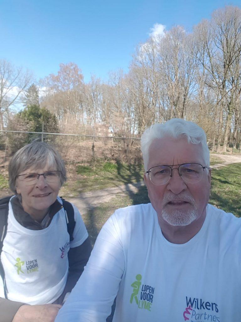 Gert en Liesbeth - Lopen voor Lyme